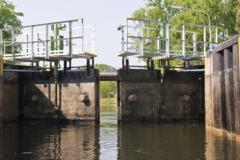Huile de chaînes barrages/écluses